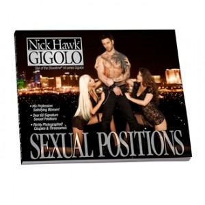 Nick Hawk™ GIGOLO Sexual Positions Book